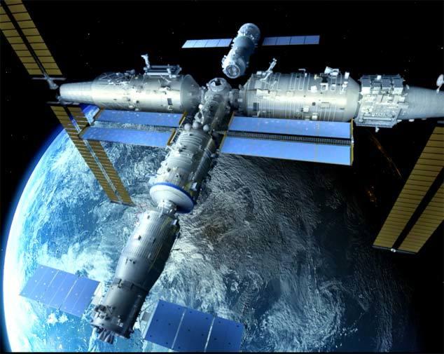 China avanza indetenible en la construcción de su gran estación espacial