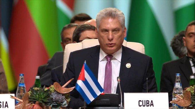 """Cuba en la Mnoal: """"Si hubiéramos globalizado la solidaridad como se globalizó el mercado, la historia sería otra"""""""
