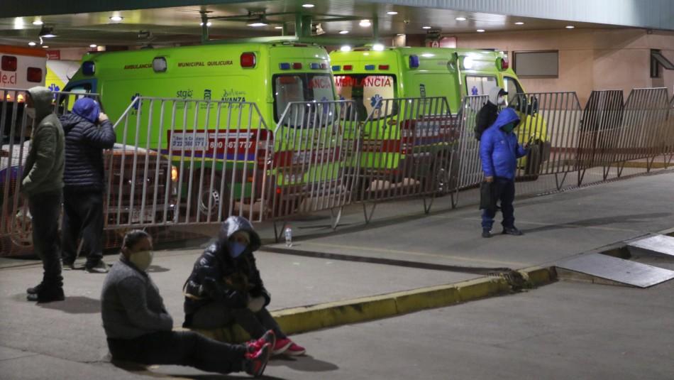Indignante: carpa del San José se llueve y 'hospitalizados' deben ser sacados del lugar