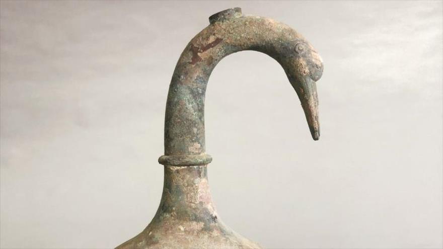 (+Fotos) Encuentran en China una jarra llena de un misterioso brebaje de 2.000 años de antiguedad