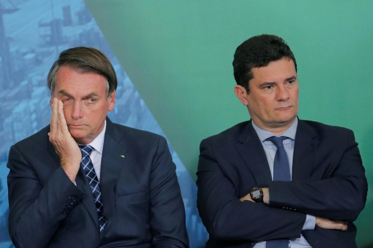 Sergio Moro presentó pruebas para hundir a Jair Bolsonaro