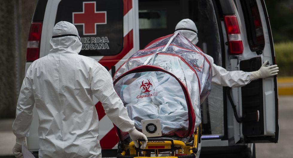 Exceso de muertes en año de pandemia fue casi 50% más de lo esperado en México