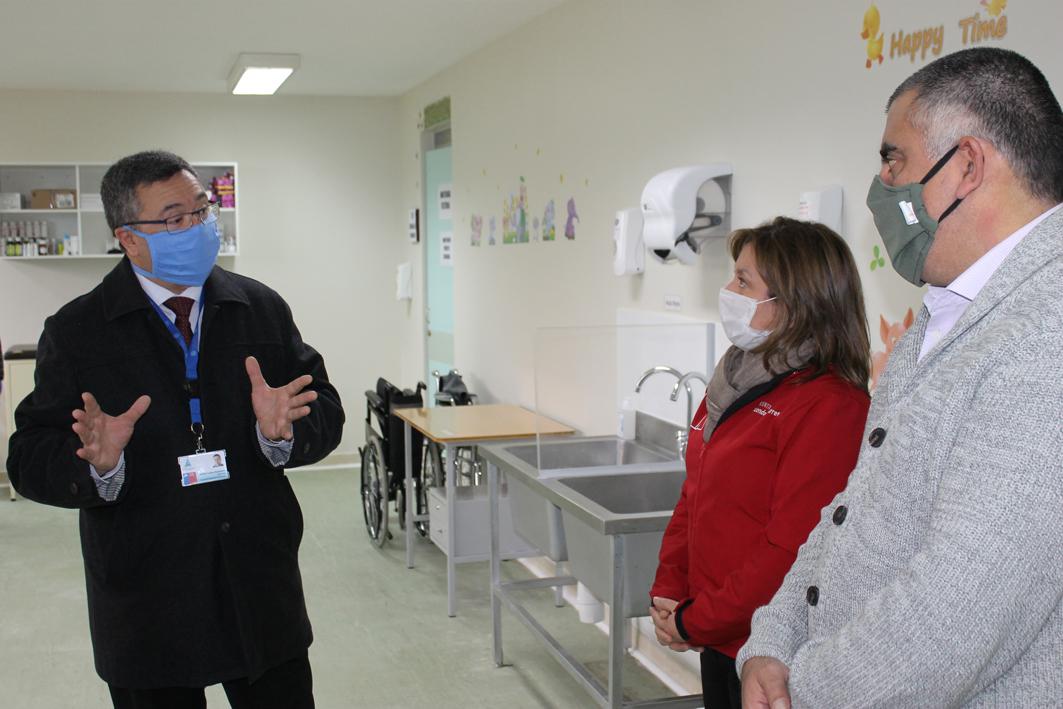 Coyhaique: Hospital Regional recibirá a niña con cáncer contagiada de COVID-19