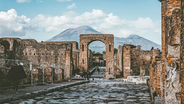 ¿Civilización de la antigua Pompeya inventó el reciclaje de basura?
