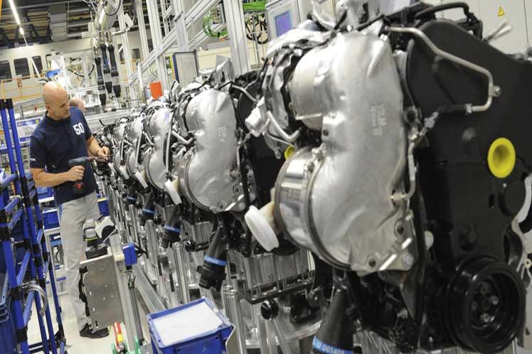 La producción industrial de la zona euro se hundió más de 11% en marzo por pandemia