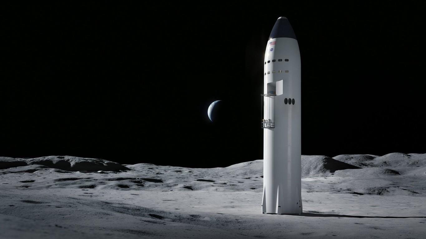 La NASA planea llegar a la superficie lunar en 2024