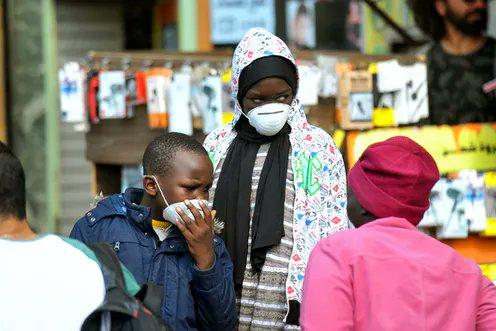 África suma más de 300 mil casos de COVID-19 y supera los 8 mil muertos