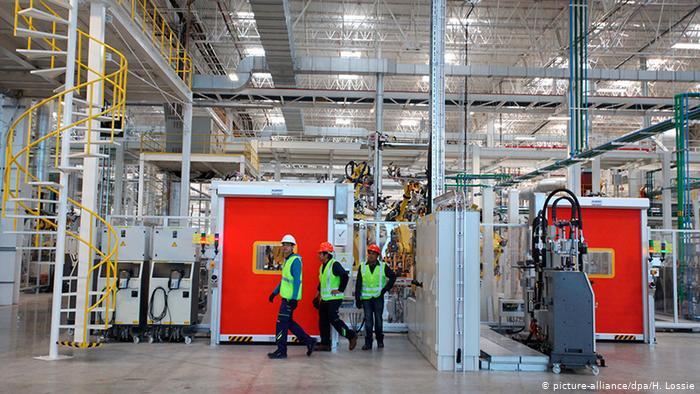 México registra contracción histórica en el sector industrial
