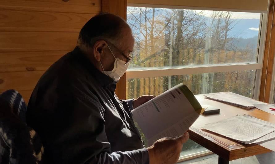Aysén: adulto mayor supera el  COVID-19 tras finalizar tratamiento en una residencia sanitaria