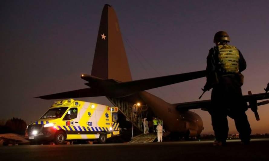 Valdivia: confirman llegada de 4 pacientes con COVID-19 desde Santiago