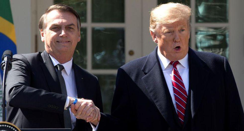 Bolsonaro vuelve a copiar los pasos de Trump y anuncia que estudia retirar a Brasil de la OMS