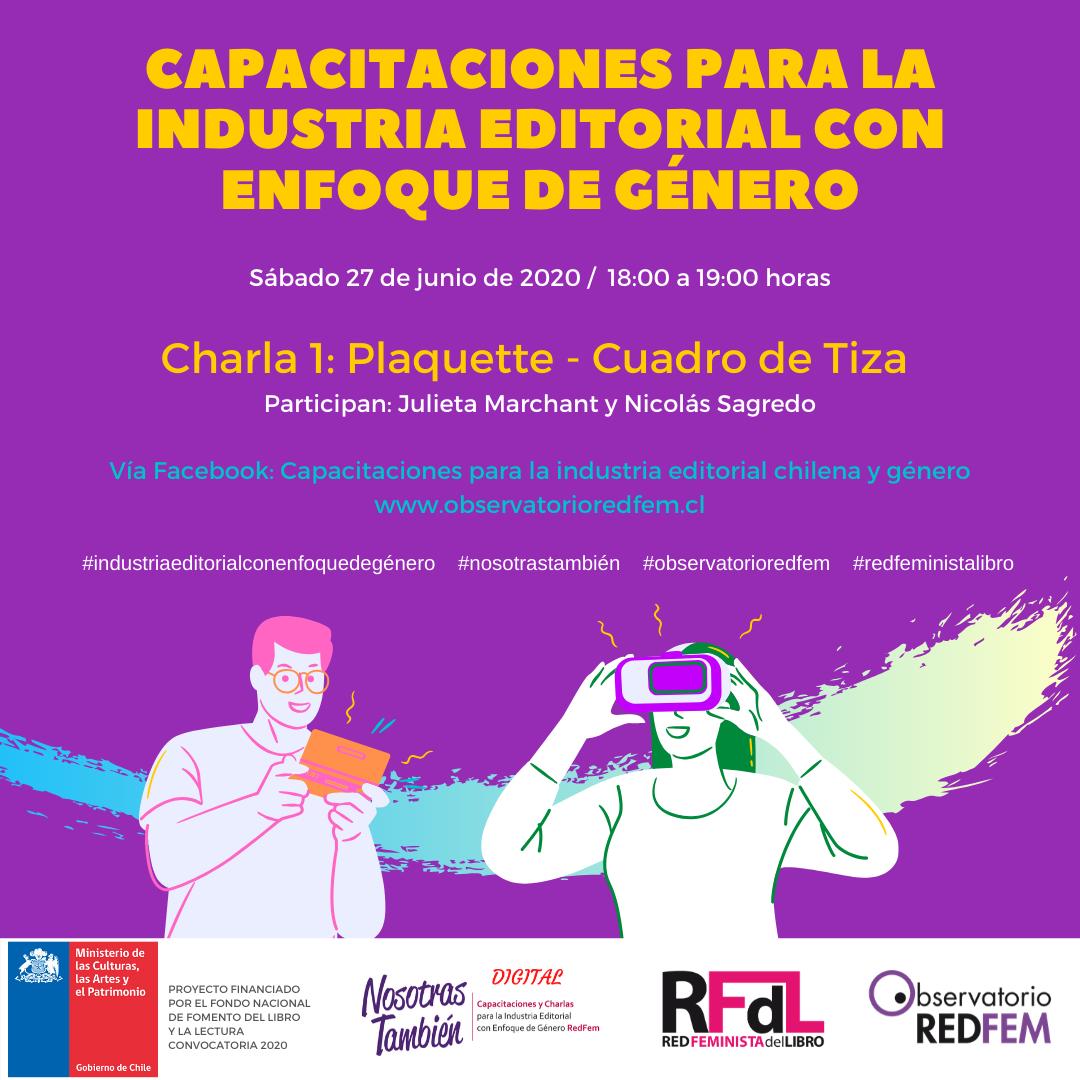 «Nosotras también»: Parten capacitaciones colectivas para el desarrollo de la industria del libro con perspectiva de género