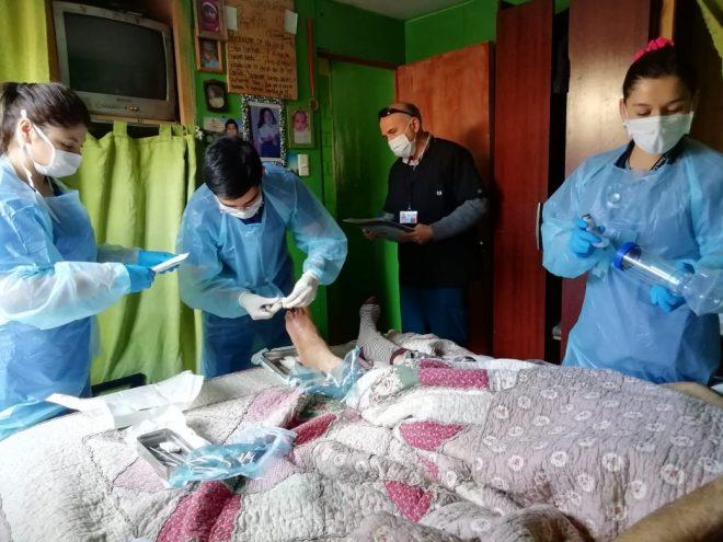 Osorno: Servicio de Salud refuerza hospitalización domiciliaria