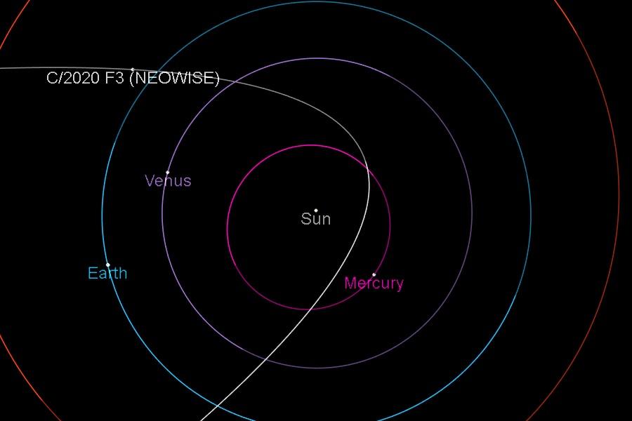 Un cometa llamado Neowise podría verse a principios de julio