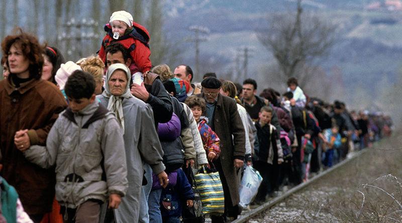 Más de 70 millones de personas en el mundo huyeron de sus casas en el último año para poder sobrevivir