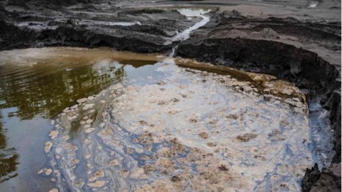 Indígenas de Ecuador denuncian derrame de petróleo en la Amazonía