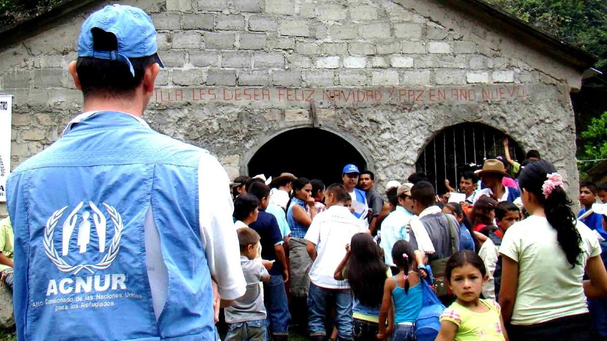 Acnur advierte que existen casi 80 millones de desplazados en el mundo