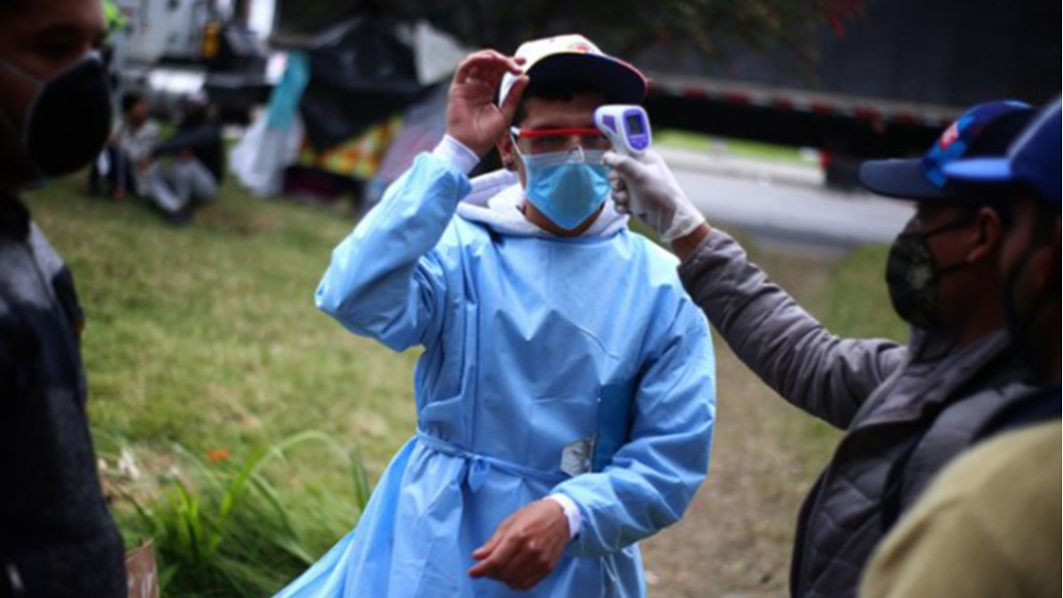 A punto de que declaren alerta roja en Bogotá por posible colapso sanitario