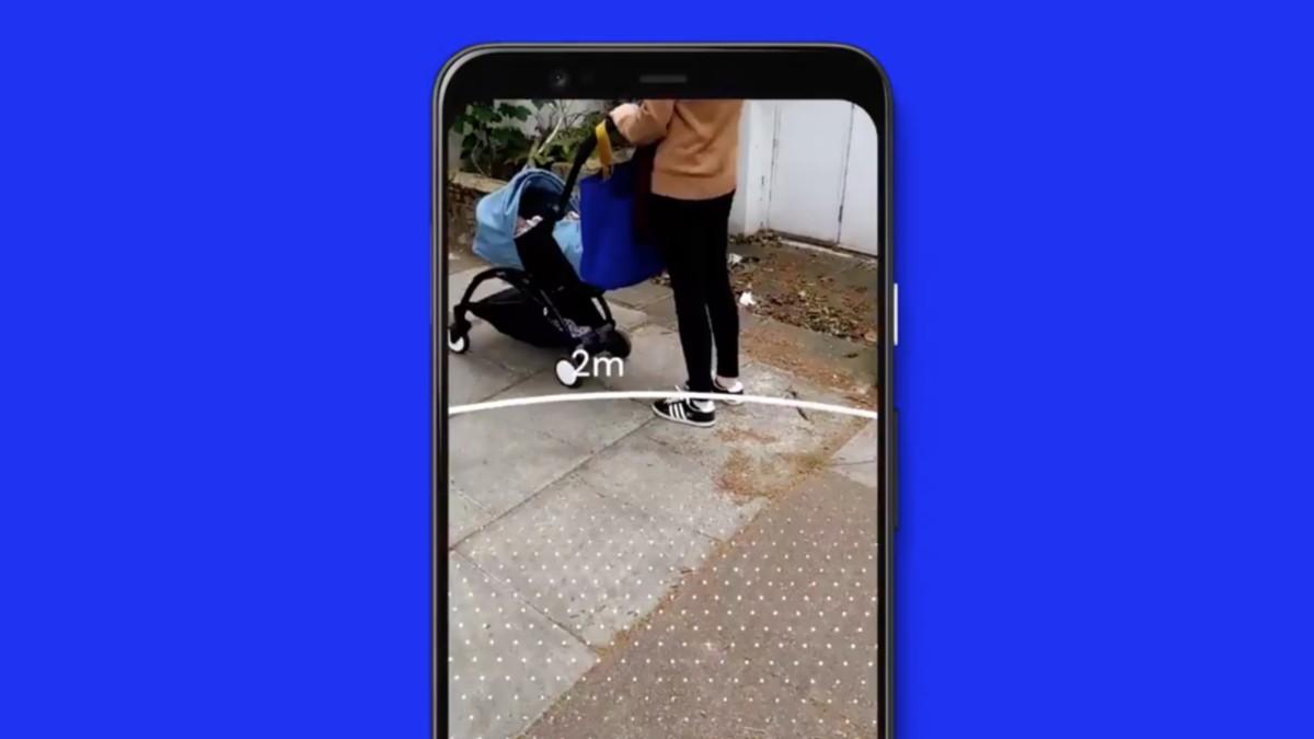Continúan los dispositivos de control por parte de Google: esta vez se trata de app para medir la distancia social