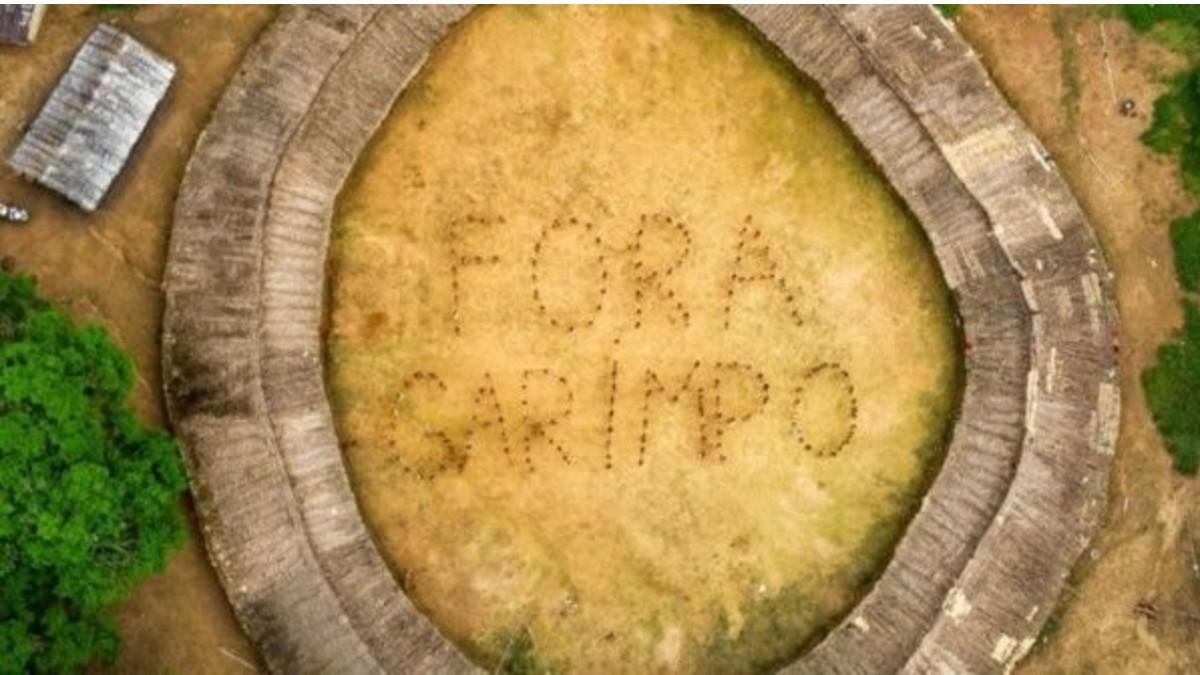 Indígenas lanzan campaña contra minería ilegal en Brasil