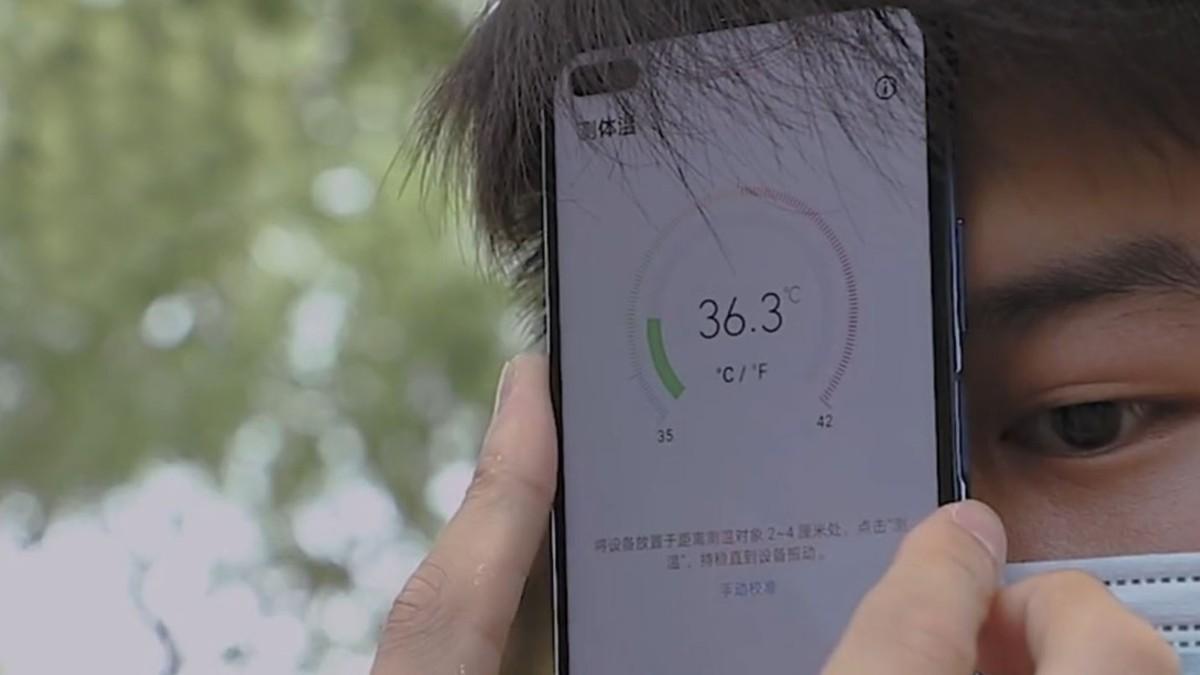 En China desarrollan smartphone capaz de tomar la temperatura