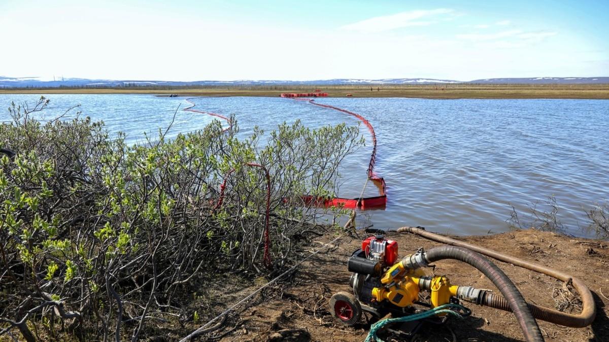 Autoridades rusas aseguran tener controlado el derrame de diésel en Norilsk