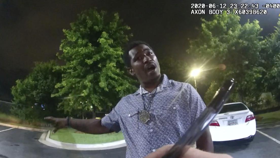 La autopsia del afroamericano Rayshard Brooks abatido por la Policía en Atlanta revela que su muerte fue un homicidio