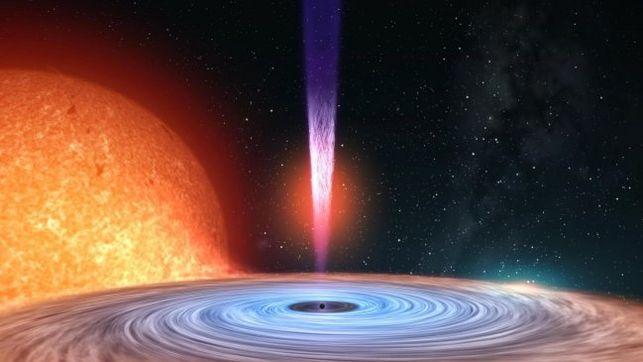 Científicos confirman que los alienígenas podrían usar un agujero negro para generar energía