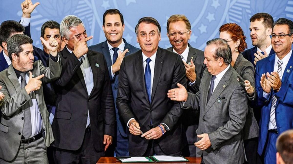 Policía Federal de Brasil investiga a aliados de Bolsonaro por protestas antidemocráticas