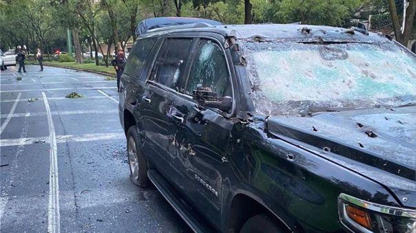 (+Videos) Jefe de policía de Ciudad de México sufre atentado orquestado por el narcotráfico