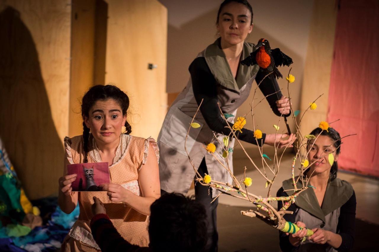 Colectivo Escénico La Enredadera: Nuevos procesos creativos para la primera infancia