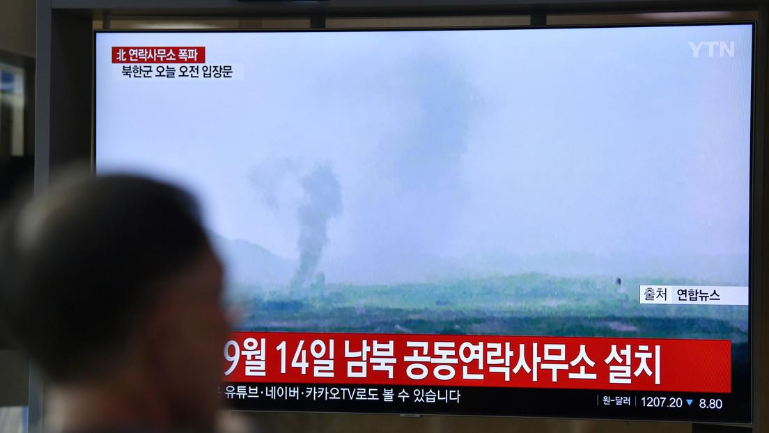 Corea del Sur lamenta la destrucción de la oficina de enlace  por parte de Corea del Norte