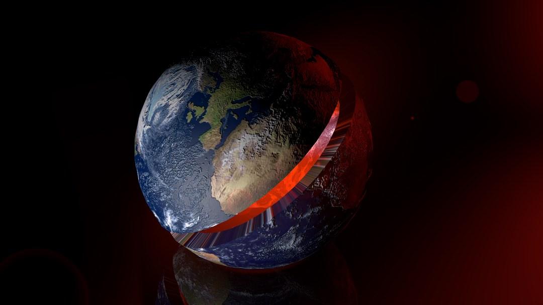 ¿La Tierra produce y recicla su corteza desde su formación hace 4.500 millones de años?