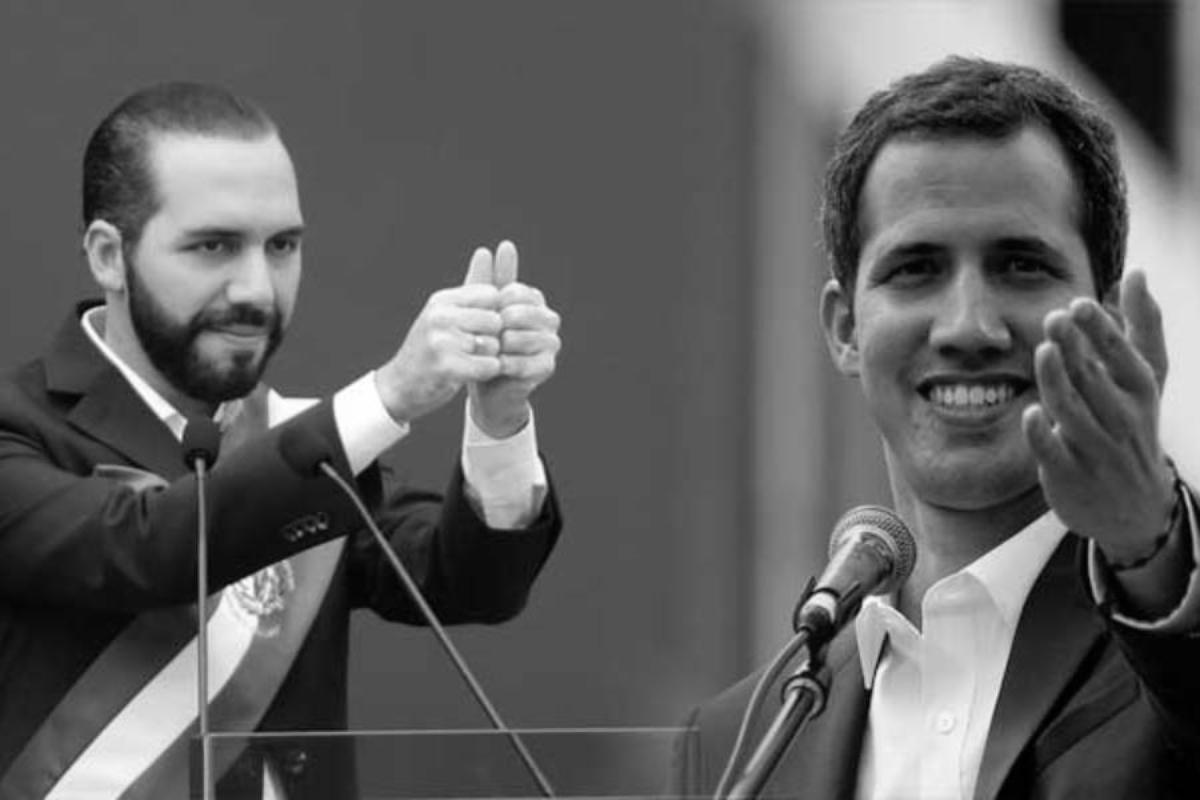 Bukele recibe ayuda de Guaidó: Asesores que financiaron invasión a Venezuela falsean cifras COVID en El Salvador