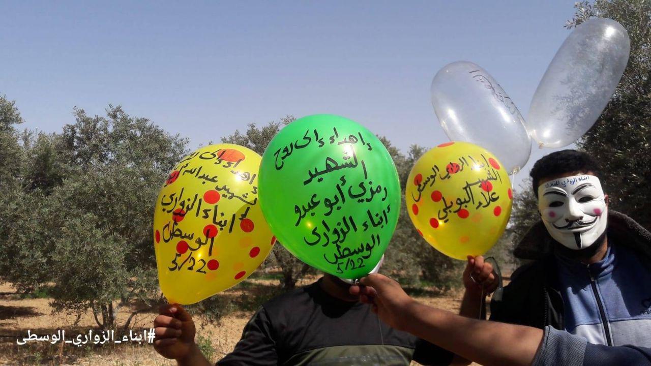 Israel aprueba recursos a Gaza a cambio de que dejen de lanzar globos incendiarios