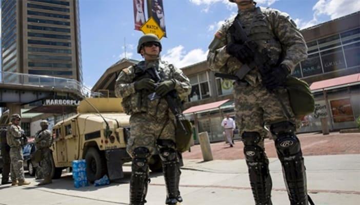 Detectan COVID-19 en Guardias Nacionales que participaron en protestas por muerte de George Floyd