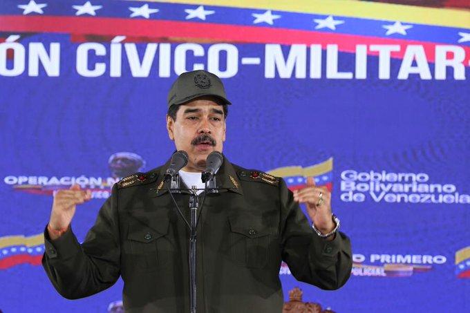 """""""No bajemos la guardia"""": Maduro denuncia que mercenarios se reagrupan en Colombia para atacar"""