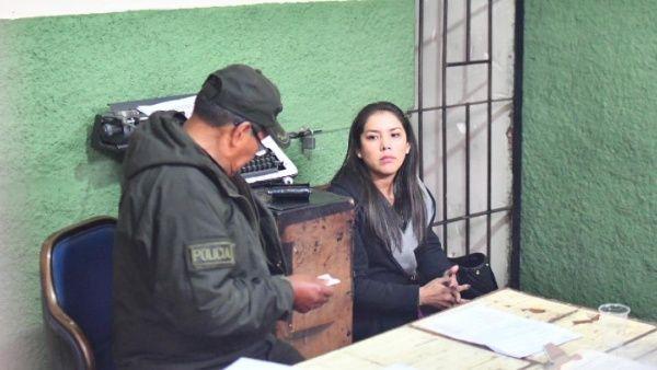 Bolivia: Patricia Hermosa revela desde la cárcel que sufrió un aborto y es víctima de acoso policial