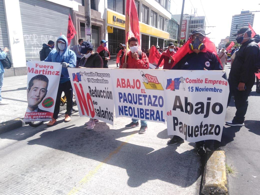 Ecuador vivió nueva jornada de protestas en rechazo a medidas económicas de Moreno