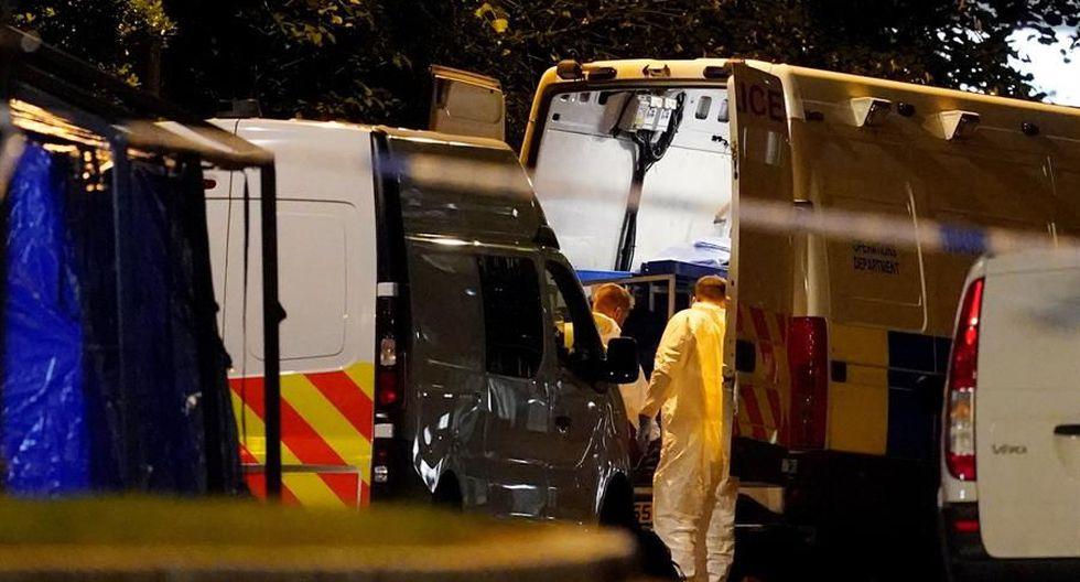 La Policía califica de «incidente terrorista» la muerte por apuñalamiento de tres personas en Reino Unido