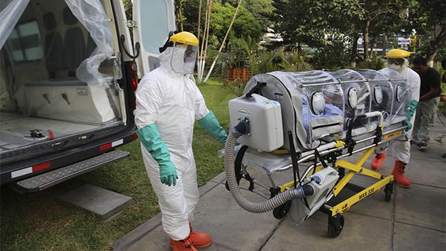 Puerto Montt: llegan desde Santiago  cuatro pacientes COVID-19 en estado crítico