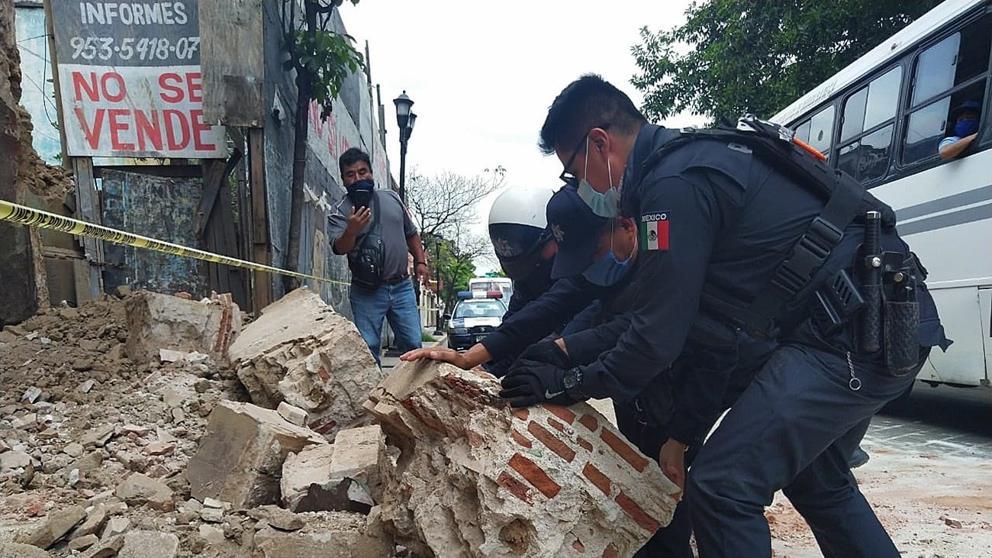 México: sismo de magnitud 7,5 deja ya 4 muertos y genera alerta de tsunami en Centroamérica