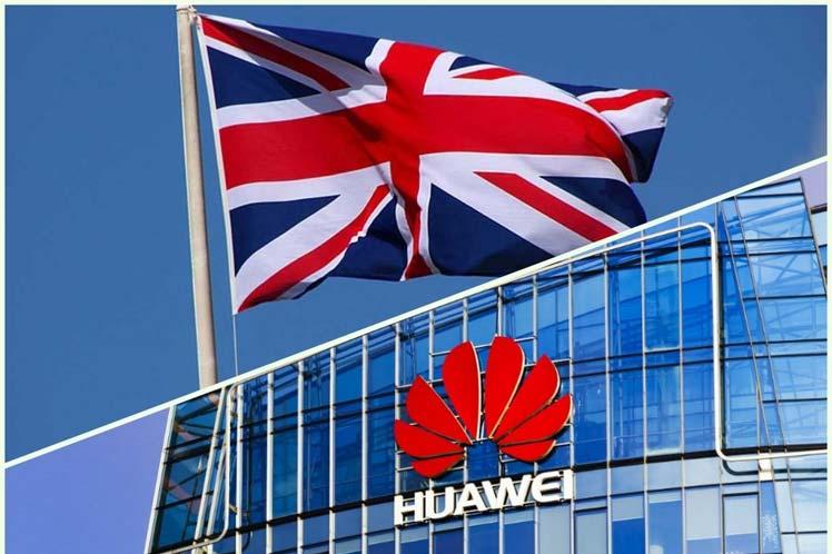 Reino Unido: Huawei no participará en la red 5G y se prohíbe comprar sus productos