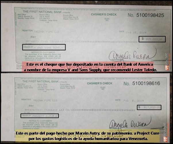 cheques Toledo