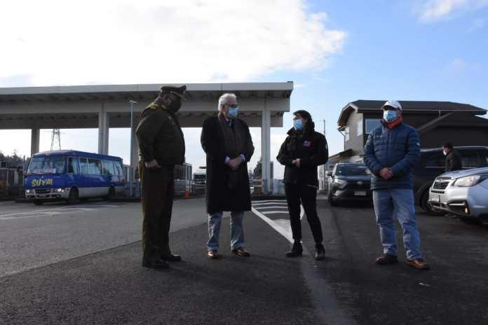 Puerto Montt en cuarentena y con controles de acceso día y noche