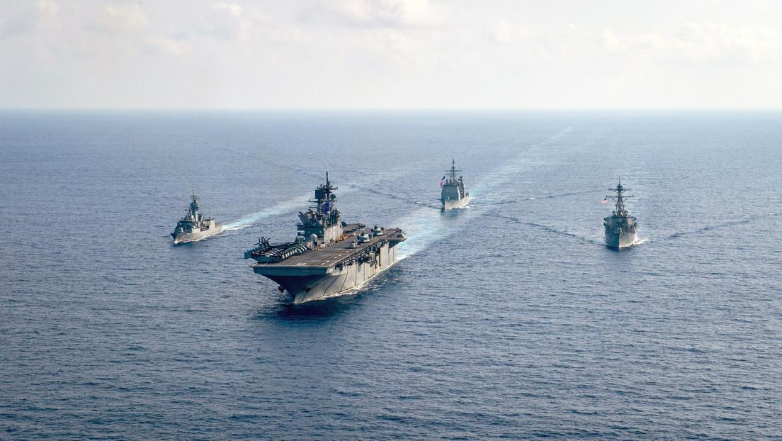 Filipinas acusa a China de «maniobras peligrosas» en el disputado mar Meridional