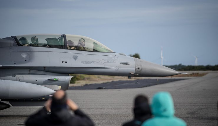 Gobierno: Compra de equipamiento y actualización de flota de aviones F-16 se postergó para el próximo año