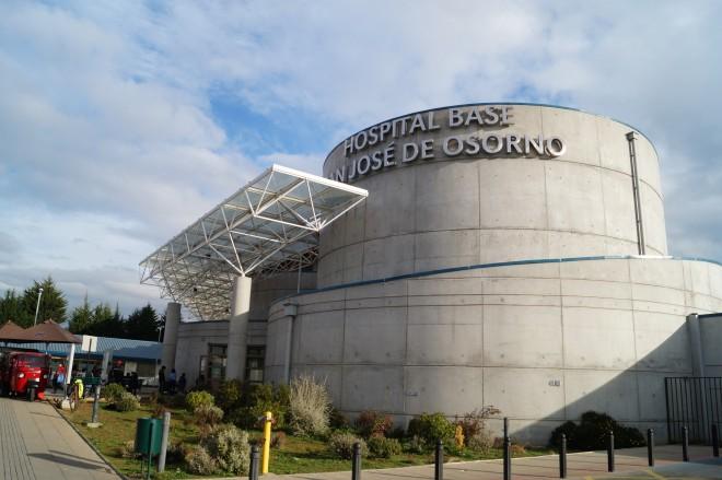 Osorno: confirman 34 personas con COVID-19 en hospital Base