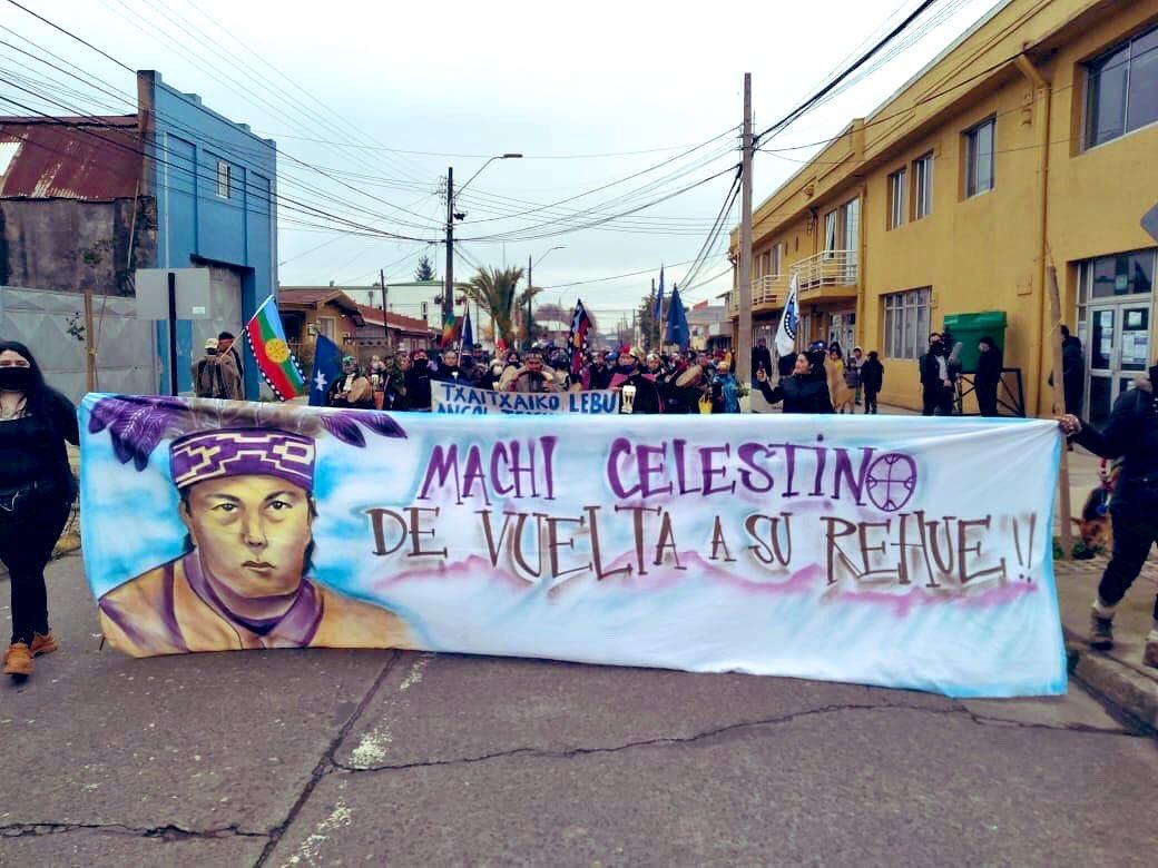 Familiares de Celestino Córdova rechazaron posible alimentación forzada y reiteraron llamado al Gobierno a cumplir Convenio 169 de la OIT