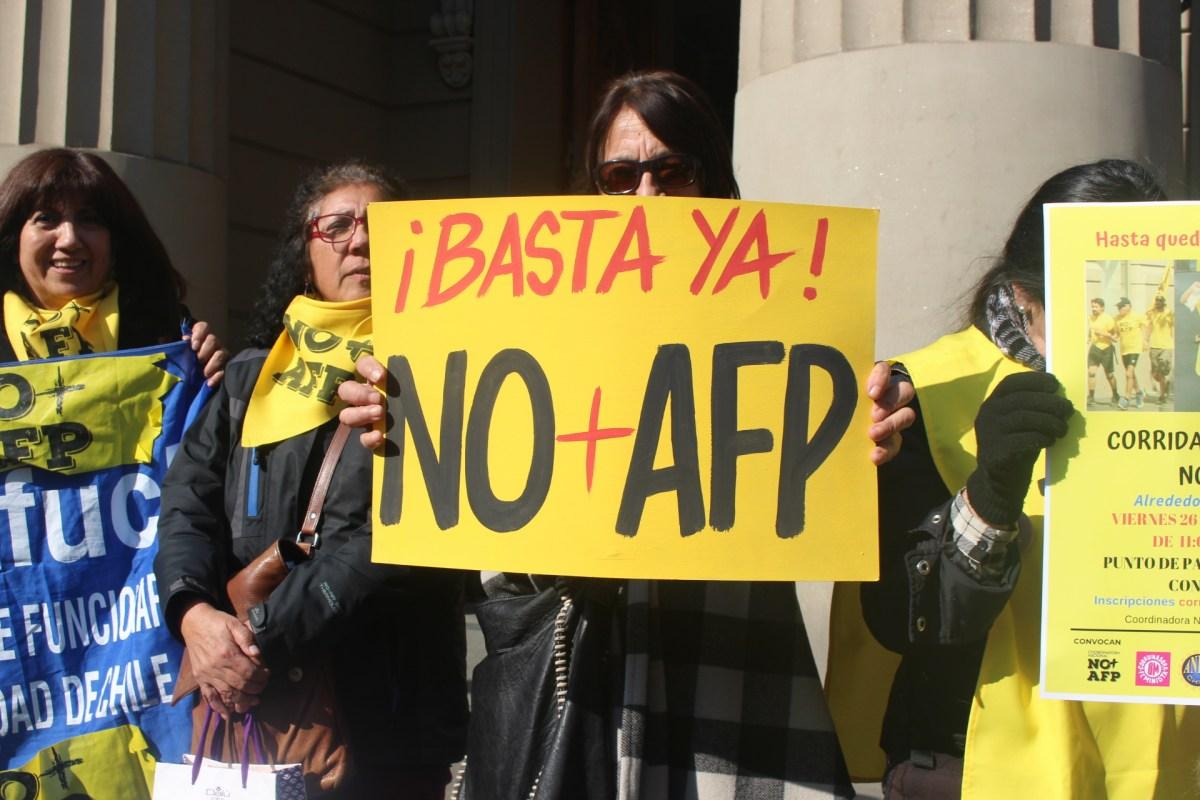 Coordinadora NO+AFP: Una constituyente sin movilización ni participación es un poder vacío y es presa fácil para los poderes dominantes